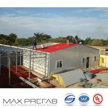 T modular ranch house row prefabricated pvc houses for social house