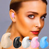 Mini Invisible Wireless 4.0 Stereo In-Ear Head-free Earbud Headset Earphone Headphone with microphone For Smartphones