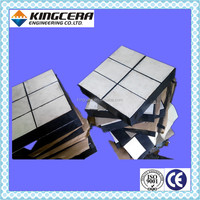 Mineral processing material chute wear protection ceramic wear lining