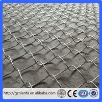 Chain Link Fencing/Plastic Chain Link Fence/Heavy Duty Chainlink Fence(Guangzhou Factory)