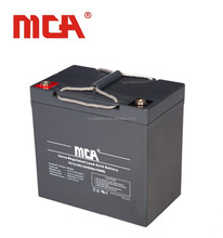 High quality sealed Lead-acid battery 12V 55Ah deep cycle UPS battery