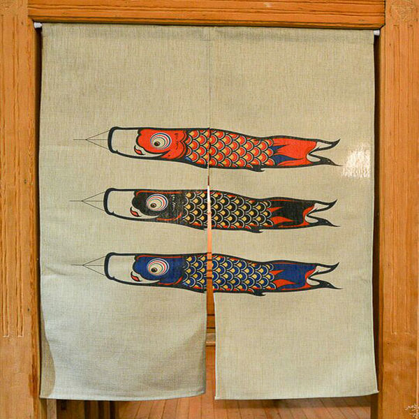 Manual Handmade window curtains Japanese curtains made to measure