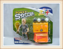mini plastic shooting football player toy,soccer players toys