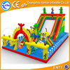 outdoor used playground slides for sale inflatable amusement park kids inflatable fun city slide for sale