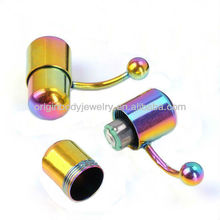Stainless Steel Colorful Tongue Vibrating piercing