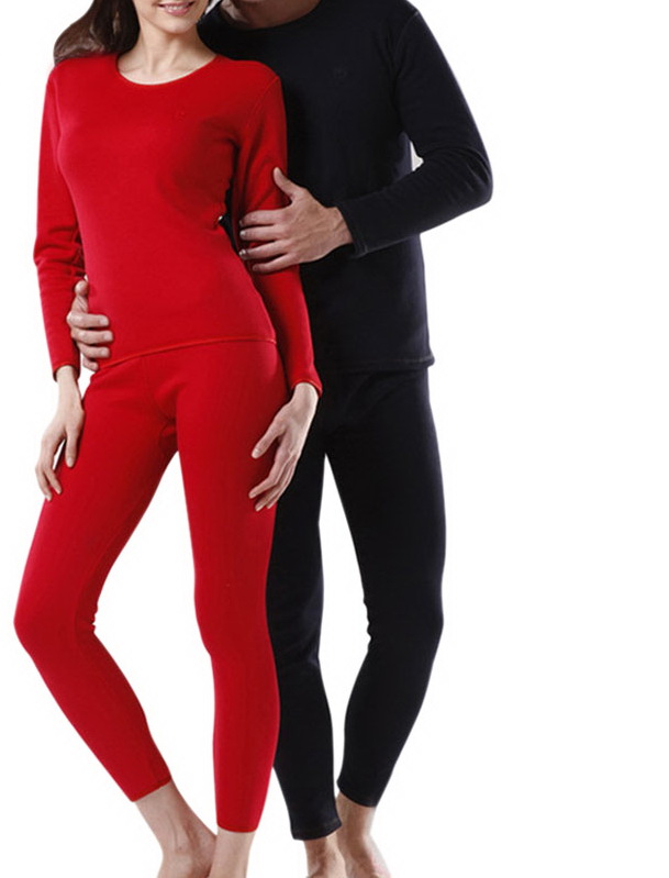 MOON BUNNY Winter Thermal Underwear Thick Velvet Women/Men Long Johns For Lovers Wholesale MOQ 1set