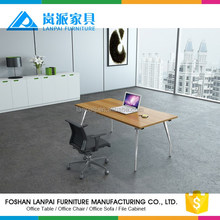 Aluminium frame small conference table for 4 person KL-13