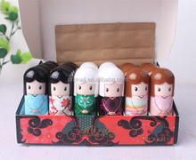 Freeshipping Cute Doll Lip Balm