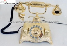 Antique Nautical Decorative Brass Handicraft Telephone
