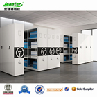 Compactor Storage File Cabinet Shelving System, Mobile Shelves, Metal Locking Shelving System