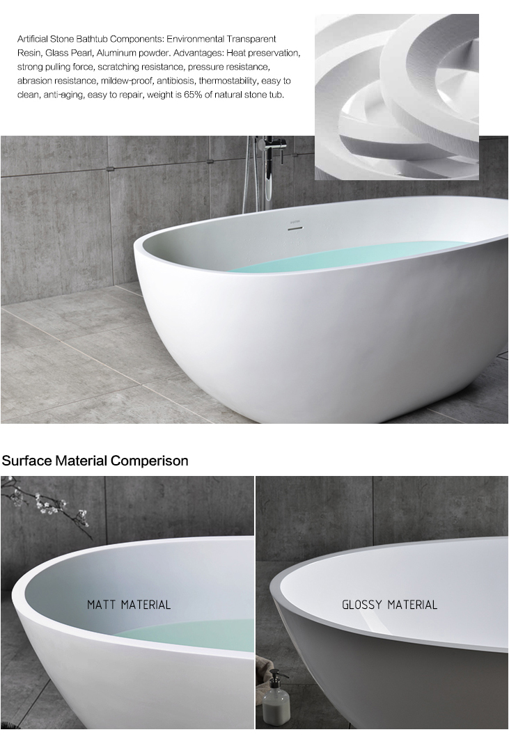 Modern design two sided bathtub for sale