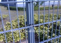 QYM double wire welded fence panel