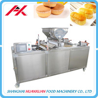 Full Automatic Industrial Commercial Cup Cake Making Machine