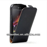 ULTRA SLIM Leather Flip Case Cover for Sony Xperia M C1904 / C1905