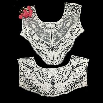 Mesh Embroidered Lace Collar Women Collar