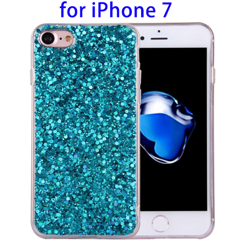 Great Selection Twinkling Paillette Plating TPU Back Cover Case for iPhone 7