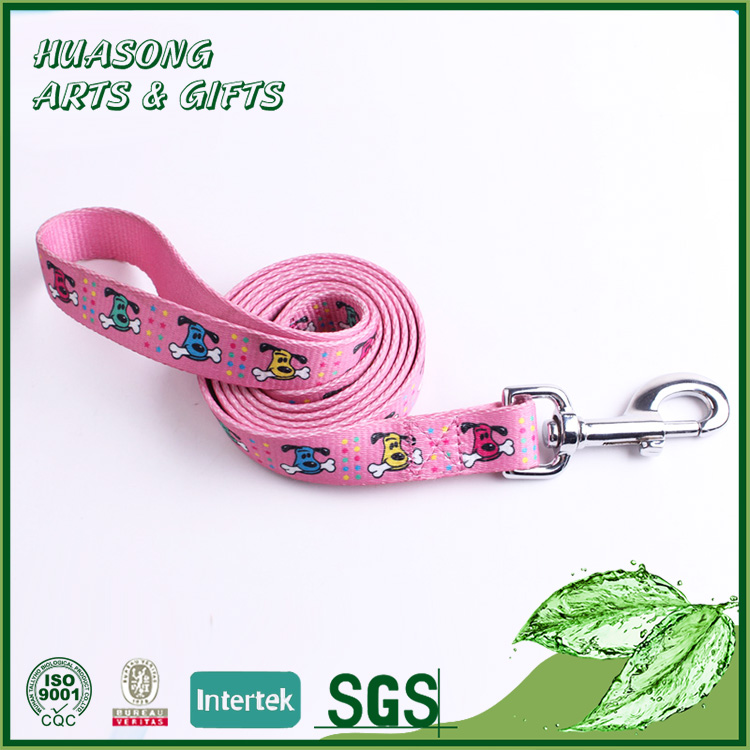 Designer Pink Leash for Small Dogs