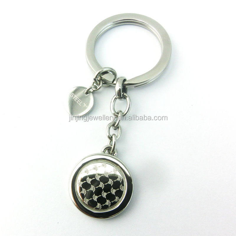 Tennis Keychain Stainless Steel Key Chain Parts