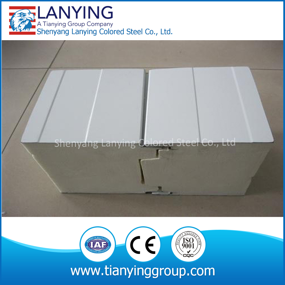 hot sale pu polyurethane sandwich panel for roof and wall