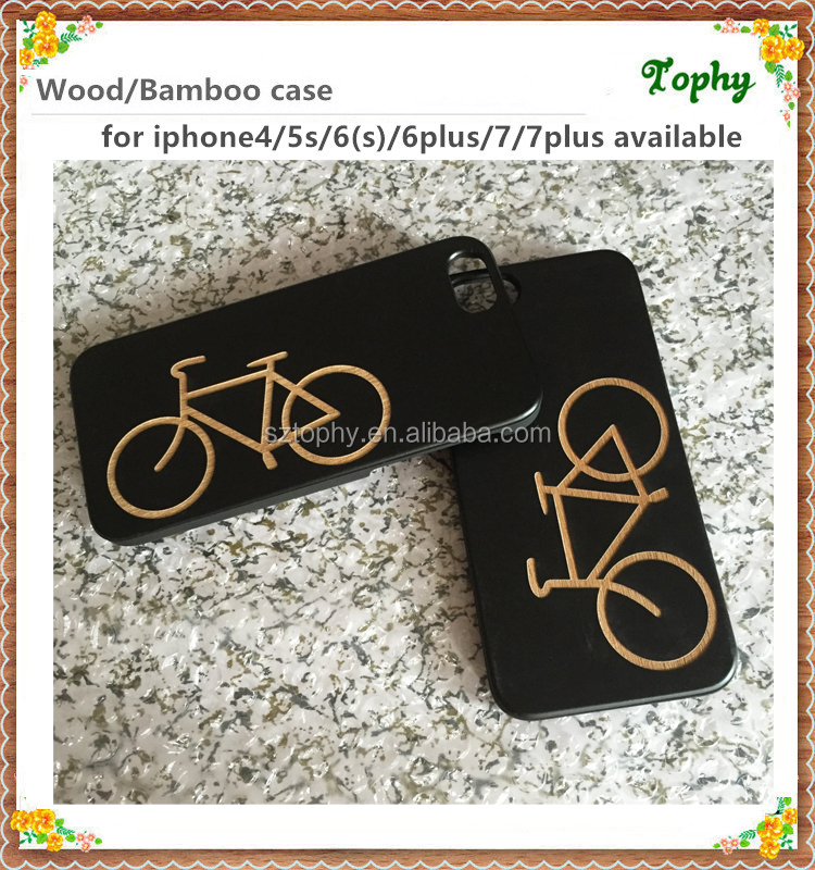 Best selling for iphone6 laser Engraving Wooden/Bamboo Blank Custom Design Wholesale Cell Phone Case For Mobile Phone Accessory