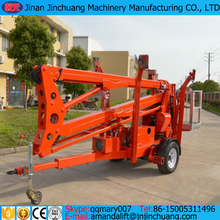 Chian NEW 16m hydraulic boom crane telescopic man lift