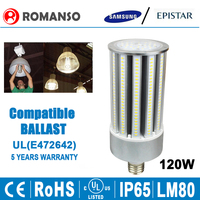 led corn light 120w led replacement 500w halogen
