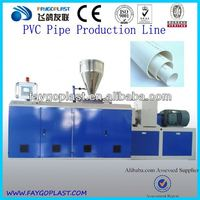 china suply pvc pipe extrusion line machine