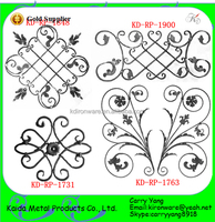 Ornamental Wrought Iron Gate Accessories