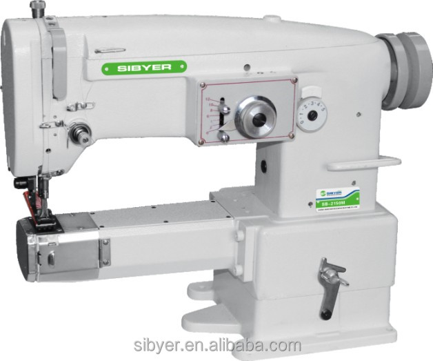 easy operate cylinder zigzag stitching industrial sewing machine with good price