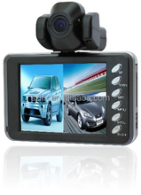 Dual Lens Super Night Vision Vehicle Video Recorder Mini Dash Board Cam 1080p With GPS