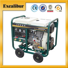 Self-exciting 4200 Kva Portable Open-frame Three- phase Advanced Direct Fuel Injection System Diesel Welder Generator