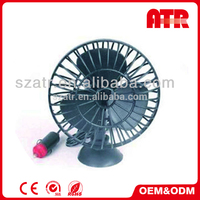 Auto cool solar power car fan with Working Voltage of 12/ 24V