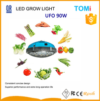 Full spectrum super ufo 90w led grow lights red 630 blue 460 name of all vegetables,greenhouses garden used