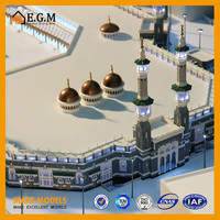 miniature mosque architecture model/masjid building model