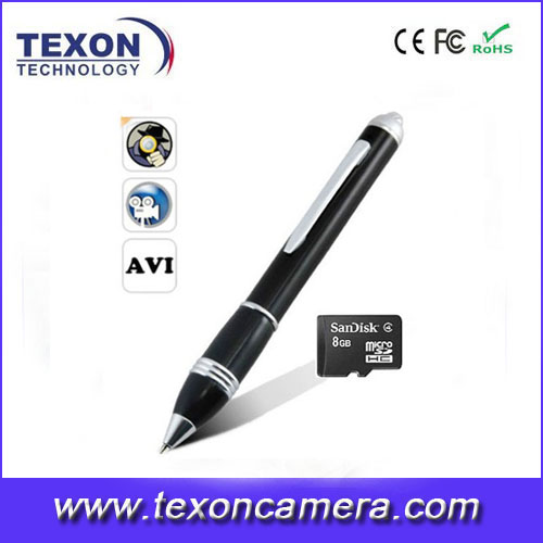 HD 1280*960 USB pen camera with Motion detection TE-651