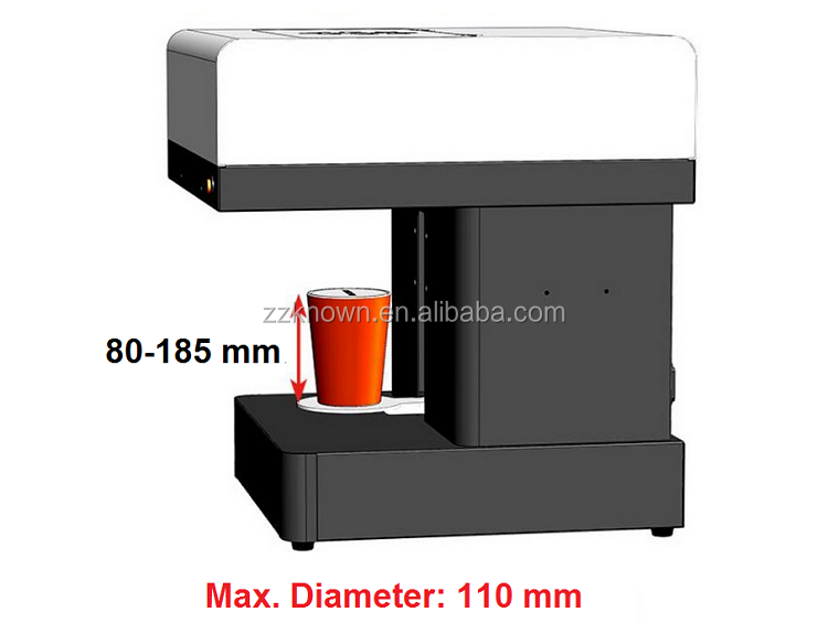 Beverage tea coffee printer 2016 most fashionable printer