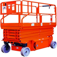 12 m personal hydraulic lift of self propelled scissor lift