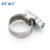 Cheap price adjustable 12mm german style 304 stainless steel hose clamp