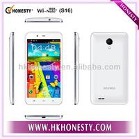5 inch Quad Core Cheap Smart Phone Mobile OEM S16+
