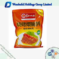 Custom printed plastic spice packing bag / food packaging plastic bags for spices
