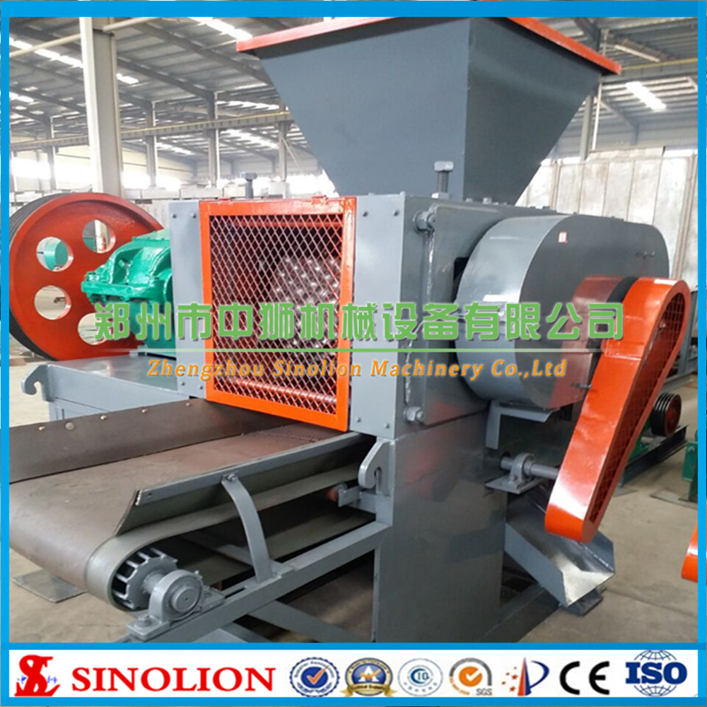 Hydraulic roller type coal slurry briquette machine manufacture price sell makeing oval oblate pillow ball briquette pellet
