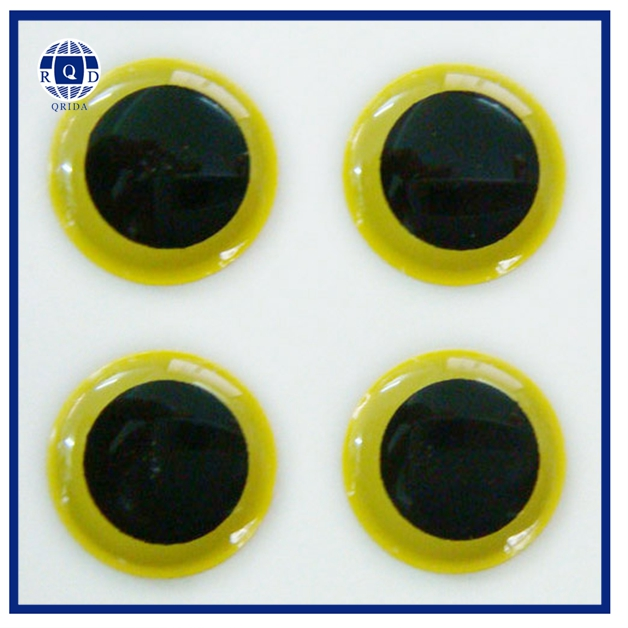Artificial fly 3d fish eyes for fishing lure