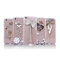 wholesale Bling Diamond Protective Case For Apple iPhone 6S