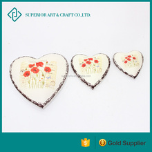 new christmas decorations heart shaped ceramic