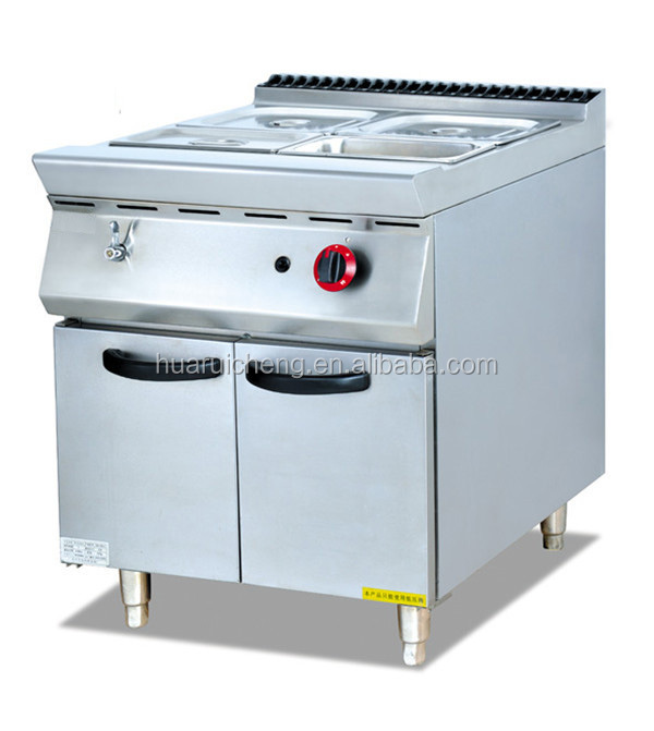 Commercial restaurant kitchen heavy duty gas bain marie