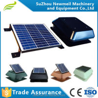 Newmeil SuperAir-R good airflow solar panel attic fan easy installation