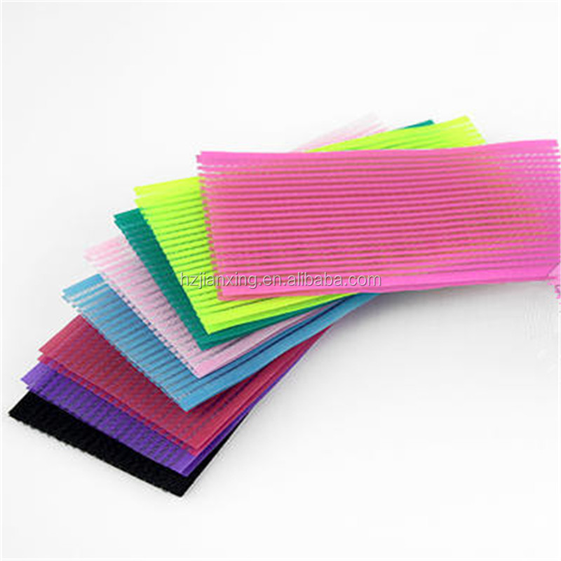 Multicolored women hair roller or hair decoration hook &loop tape