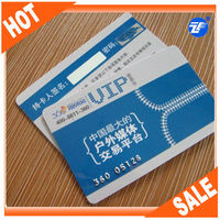 Standard size ATMEL T5577 plastic chip card for campus