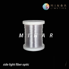 1.5 mm Polymer pmma strand side glow fiber optic cable optical fiber
