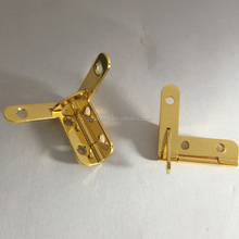 Fashion jewelry box lock hardware metal bag hardware lock in furniture hinges